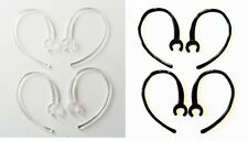 8 Small Clamp Black Clear USA Made Bluetooth Ear Hook Loop Clip replacement 6mm
