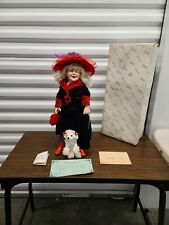 Duck House Heirloom Dolls Red Hat Grams Doll Red Hat Ladies Authenticated In Box