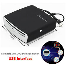 USB Interface Car Radio CD/ DVD Dish Box Player External Stereo For Android 4.0+