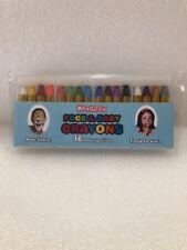 Kangaroo's Face Paint and Body Crayons - 16 Colors - Safe & Non-Toxic Sticks;