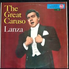 MARIO LANZA: THE GREAT CARUSO German RCA Victor Red Seal LP LM1127--C