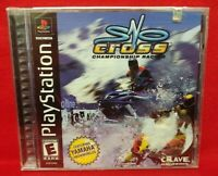Sno-Cross Championship -  Brand New Hologram Sealed Playstation 1 2 PS1 PS2 Game