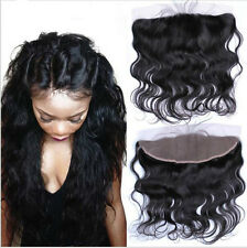 13x4 Lace Frontal 7A Virgin Human Hair Brazilian Body Wave Closure Ear to Ear 8