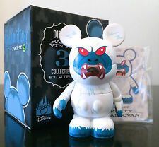 "Disney Vinylmation 3"" Park 5 Yeti Abominable Snowman Expedition Everest Toy New"