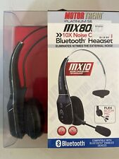 PLATINUM Motor Trend Bluetooth Headset Wireless with 10x Noise Cancelling