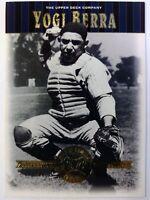 2001 01 Upper Deck Cooperstown Collection Yogi Berra #45, New York Yankees, HOF