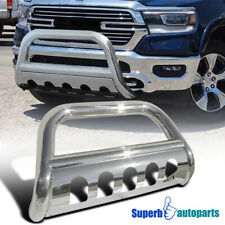 """For 2019 Dodge Ram 1500 3"""" Stainless Steel Front Bumper Bull Bar Grille Guard"""