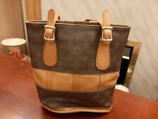 Authentic Vintage Louis Vuitton French Company Monogram Bucket Bag