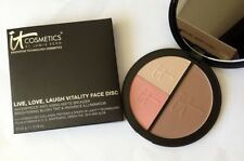 IT COSMETICS LIVE, LOVE, LAUGH VITALITY FACE DISC 0.78 OZ