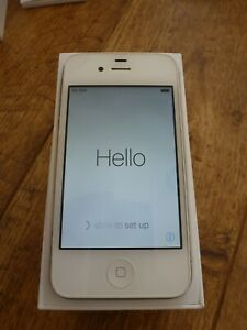 Iphone 4s White 32GB Unlocked Excellent Condition Boxed Fully Reset