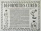 St Louis Missouri L.C. McLain Institute Quack Medical Device 1902 Vtg Print Ad