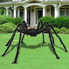 200Cm Black Spider Haunted House Prop Indoor Outdoor Halloween Decoration
