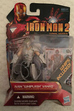 "Marvel Iron Man 2 Comic Series Ivan ""Whiplash"" Vanko Hasbro #37"