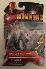"""Marvel Iron Man 2 Comic Series Ivan """"Whiplash"""" Vanko Hasbro #37"""
