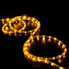 Party ropewire outdoor string fairy lights ebay led rope light 2 wire 110v lighting outdoor xmas christmas custom length 3 300 aloadofball Image collections