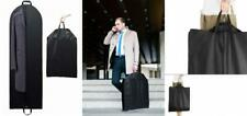 """Titan Mall 54"""" Black Garment Bags Breathable Coat Cover 24""""x54"""" with Handles"""