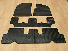 Citroen C4 Grand Picasso 2015-on Fully Tailored RUBBER Car Mats in Black