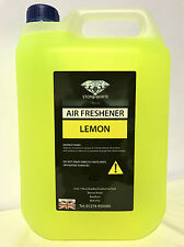 LEMON NW CAR AIR FRESHENER LIQUID CAR VALETING 5 L 5 Litre VW BMW MERC SEAT FORD
