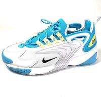 Nike Zoom 2K Women Athletic Running Training Shoes White Blue Size 9.5 New