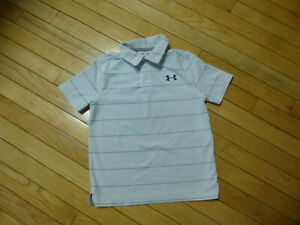 UNDER ARMOUR YOUTH/BIG BOYS POLO SHIRT SIZE SMALL LOOSE FIT