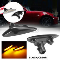 2PCS Side Indicator LED Repeater Light Lamp For Mazda 5 6 RX-8 GH Atenza MX-5 N