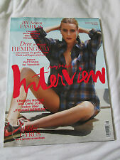 Interview Magazine September 2013 Robert Pattinson 10 Pages Dree Hemingway