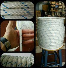 Cuerda driza cabo nylon alta tenacidad 14mm x 100metros fondeo amarre