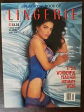 Playboy Book of Lingerie 1992 January Feb special edition Tera Dabrizi NEAR MINT