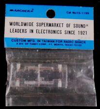 Archer Polarized Line Connectors Solderless Tandy Radio Shack 15-1199 Vtg New