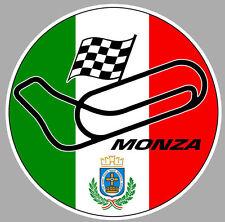 Circuit MONZA sticker vinyle laminé