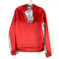 Nike NWT Ohio State Buckeyes Hoodie Women's Sweatshirt Red Gray Medium