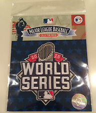 MLB Baseball 2015 Jersey Patch World Series New Postseason Royal Mets Clothes