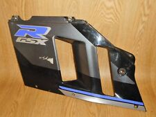 SUZUKI GSXR750-M SLINGSHOT FRONT LEFT MID SIDE FAIRING PANEL BLACK/PURPLE 1991