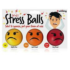 Emoji Stress Balls Stress Anger Relieve Relaxing Toy Chill Out Squeeze Gift