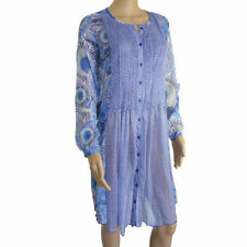 Long Sleeve Tunic Casual Geometric Dresses for Women