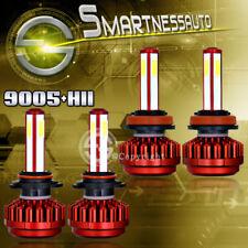 9005+H11 Combo 800W 80000LM 4-Side LED Headlight Kit High & Low Beam Light Bulbs