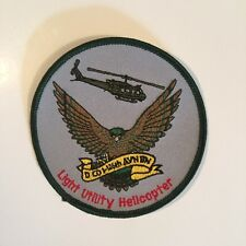 LIGHT UTILITY HELICOPTER PATCH