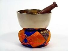 "TIBETAN SINGING BOWL  3"" D Easy to play, Beautiful Sound. AUTHENTIC, 7 METALS."