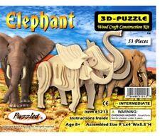 Holzbausatz Elefant - 3D Puzzle