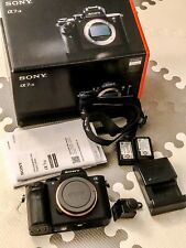 Sony Alpha a7S II Full Frame Mirrorless Camera, Body Only