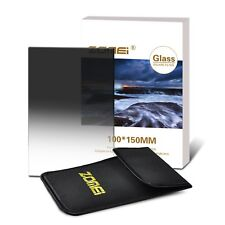 Zomei® Neutral Density Graduated GND8 UHD series filter 150mm x 100mm Cokin Lee