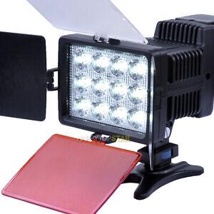 3200K~5500K White 1040 LED Camera Video DV Lamp Light For Canon Nikon SONY Fuji