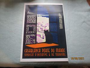 Casablanca Porte Du Maroc    Poster