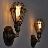 Vintage Wall Light Indutsrial Kitchen Wall Lamp Bedroom Wall Sconce Bar Lighting