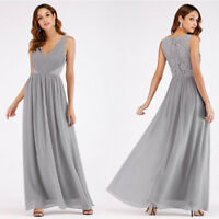 Ever-Pretty V-neck Long Formal Bridesmaid Dresses Ball Gown Party Dresses 07497