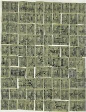 Mexico,1868,Scott#59,12c,Full Reconstructed Sheet(Plate)