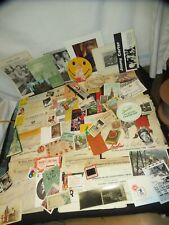Old Paper Ephemera Advertising Tobacco Railroad, Postcards, Photos & More Y358