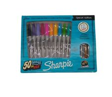Sharpie Special Edition 12ct 10 Fine + 2 Metallic Markers New Free Shipping
