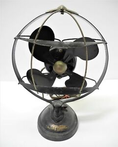 Antique Unusual Emerson SEA GULL Table Fan