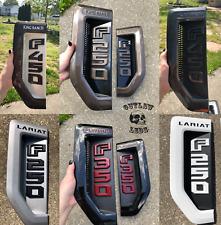 2017-2020 SuperDuty Custom Painted Side Fenders Badges